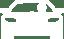 lanebil (en vit ikon)