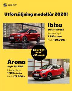 SEAT Arona och Ibiza