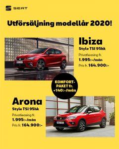 SEAT Ibiza och Arona