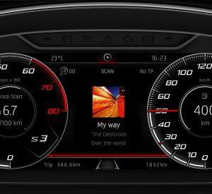 Seat Ibiza Digital Cockpit
