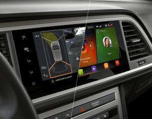 Digital cockpit Nya SEAT Ateca--