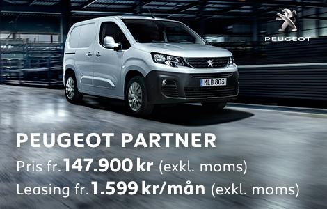 Frontbilar Peugeot