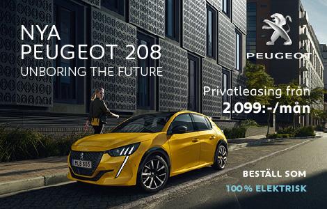Frontbilar Peugeot Kampanj