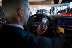 Virtual videovisning Frontbilar