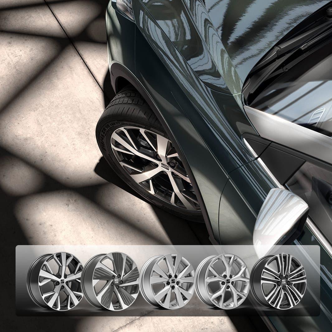Arona SEAT 2021 5-ekrade falgar