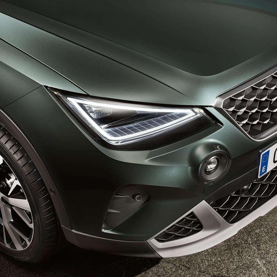 Arona SEAT 2021 Eco LED-stralkastarna