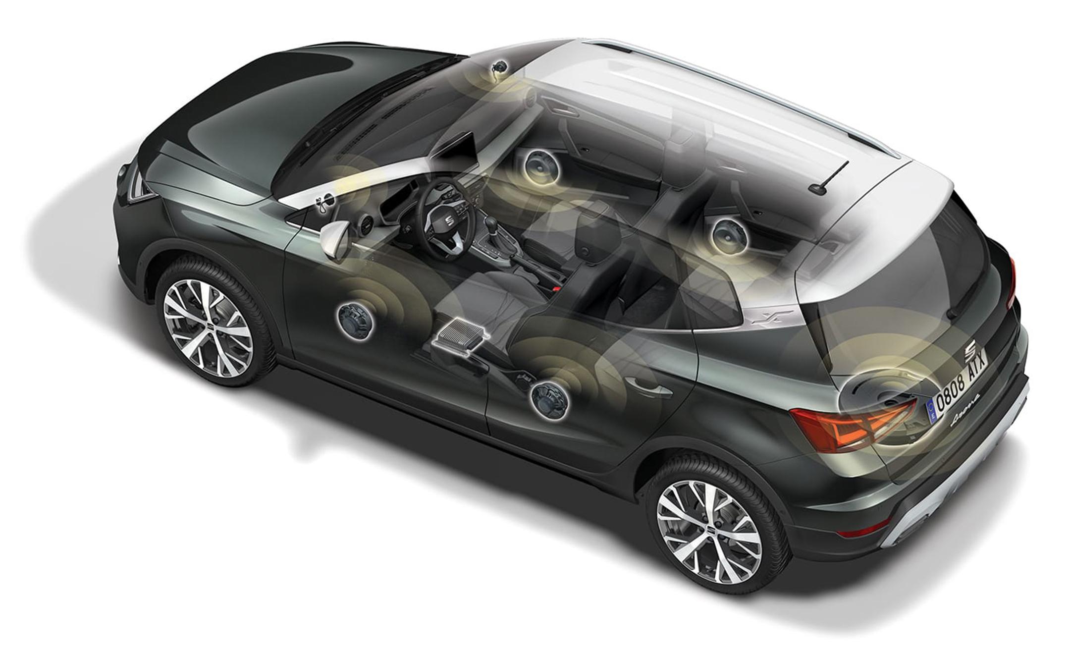 SEAT Arona 2021 Beats Audio