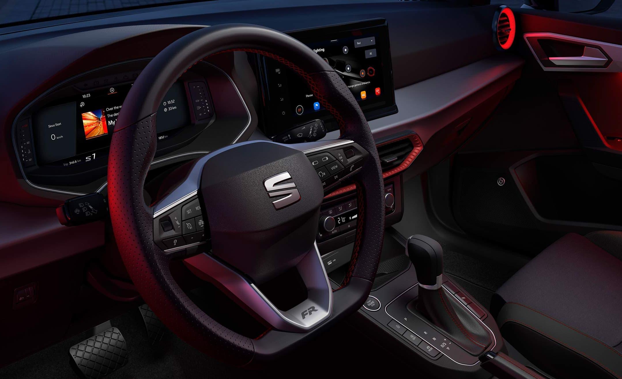 SEAT Ibiza – innovativ Interiordesign