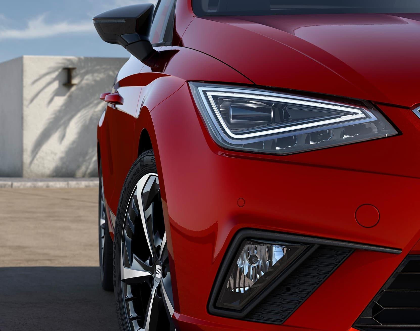 SEAT Ibiza Exteriördesign – innovativ teknik och design _ SEAT 2021